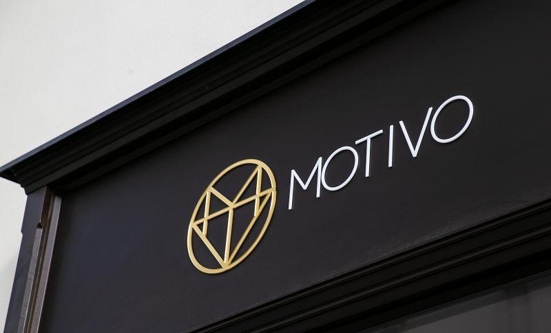 Logo pre zlatnícku dielňu MOTIVO