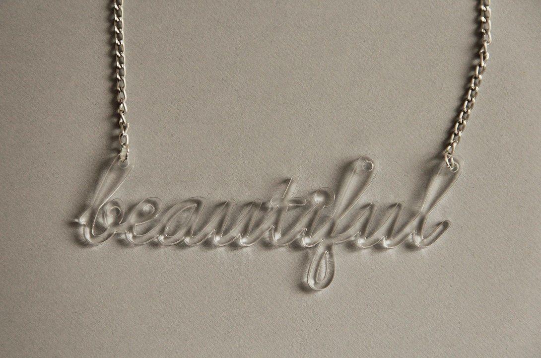 Beautiful náhrdelníky