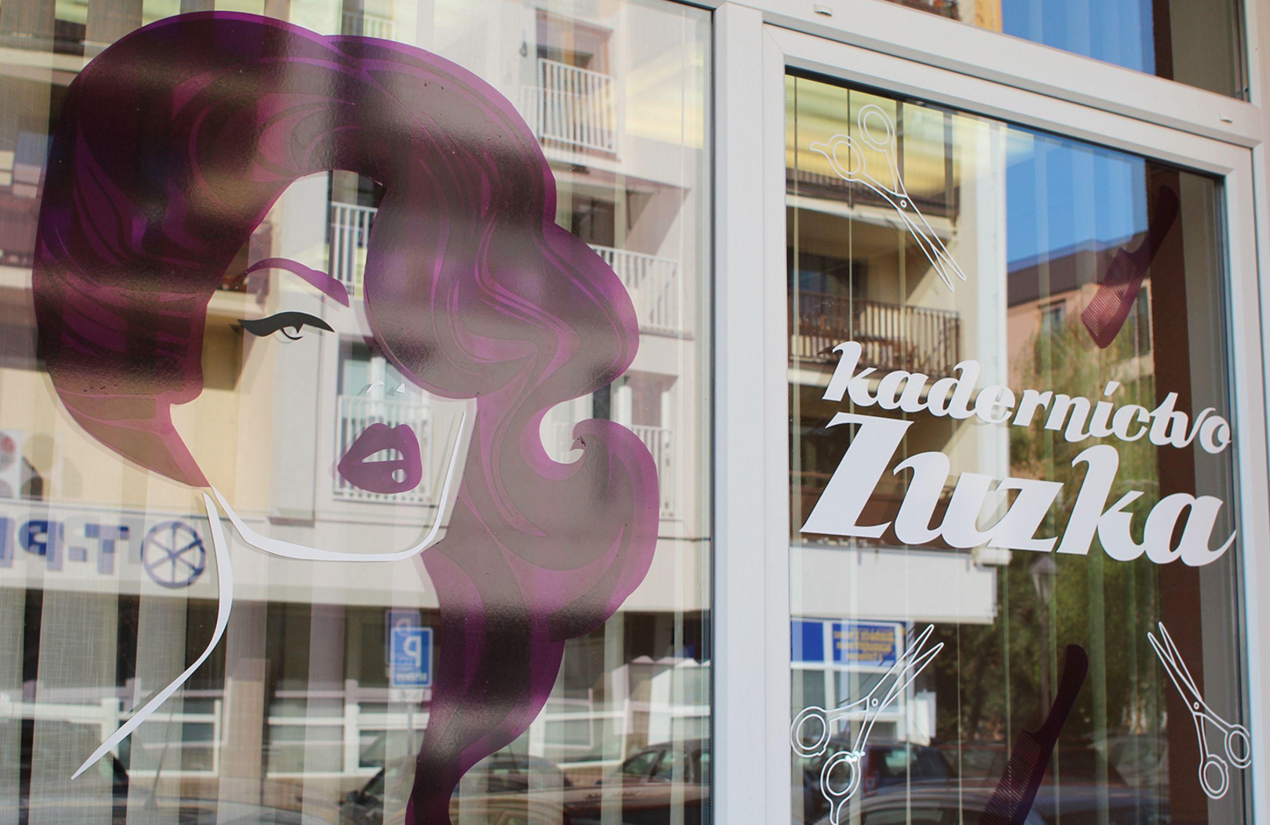 Kaderníctvo Zuzka branding novej predajne