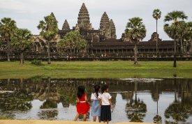 Kambodža a Singapur