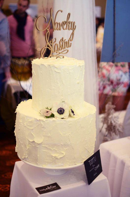Nápis na svadobnú tortu