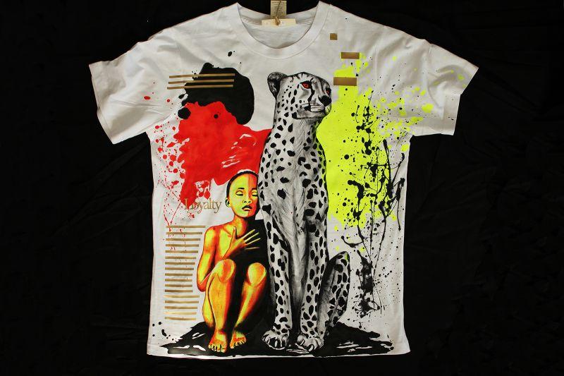 Maľované tričko Loyalty
