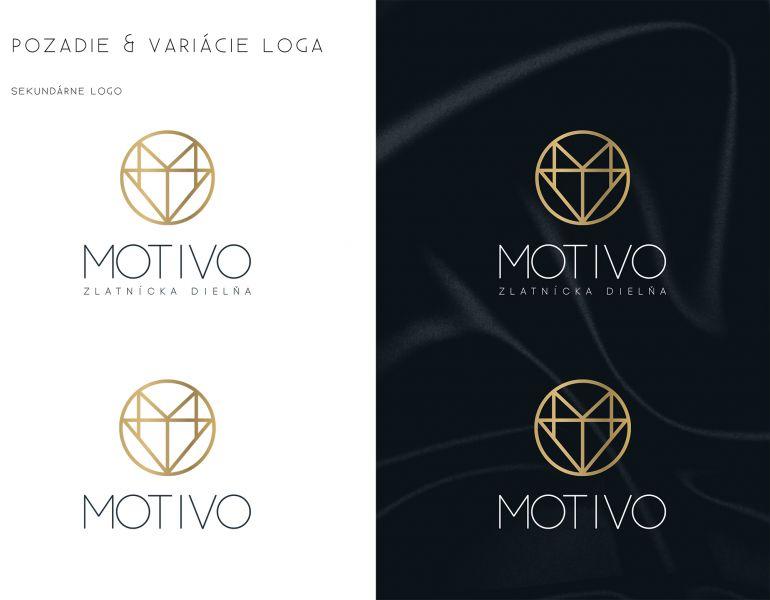 Logo a dizajn manuál MOTIVO