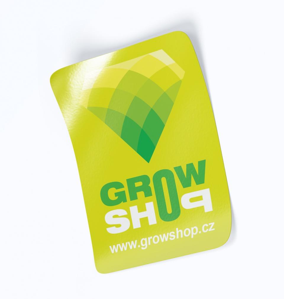 Nálepky Growshop