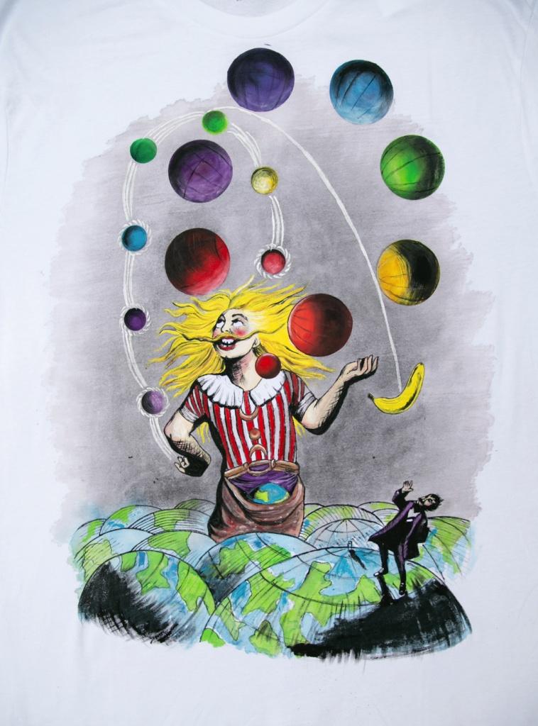 Ručne maľované tričko Queen - Innuendo