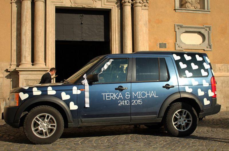 Svadobné auto T&M