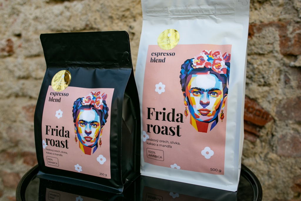 Zlatá nálepka výberová káva