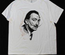 ˇmaľované tričko Salvador Dalí