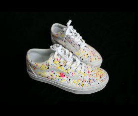 Hand painted sneakers Vans