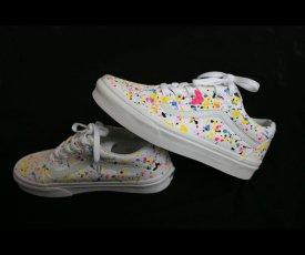 Maľované tenisky Vans