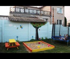 Exterior painting garden