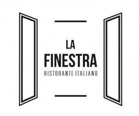 La Finestra branding of the restaurant
