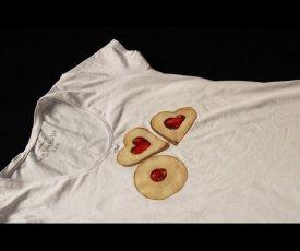 Maľované tričko linecké