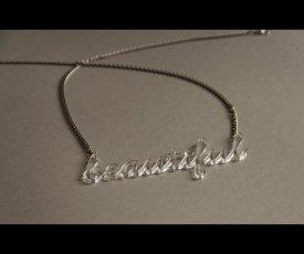 Necklace beautiful