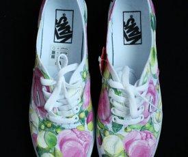 Svadobné topánky pivonky