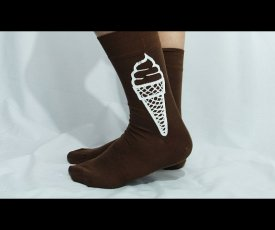Cocoa socks