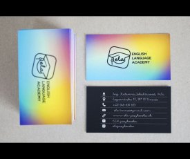 logo and business card ELA