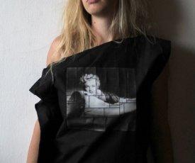 Painted top Marilyn Monroe