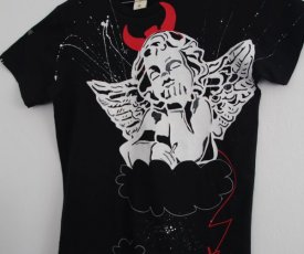 Painted T-shirt Angel