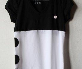 Maľované tričko guľôčky