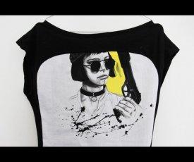 Maľované tričko Mathilda