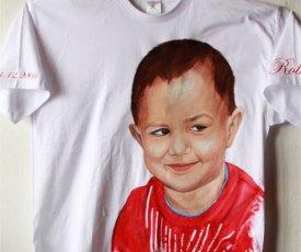 Painted T-shirt Robko