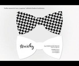 Logo a logo manual bow tie
