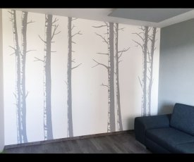 Wall painting trees