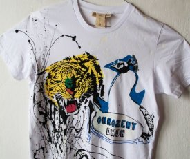 Painted T-shirt endangered species