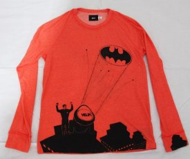 Painted T-shirt Batman help me